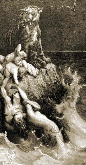 洪水神话研究之二:洪水大退离及其生命密码