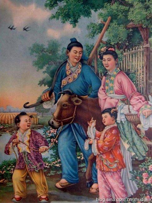 农历七夕旧帖重放:牛郎织女的新愁旧恨