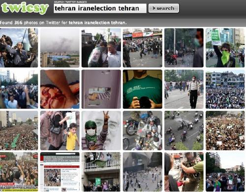"""伊朗骚乱引发""""twitter革命"""""""