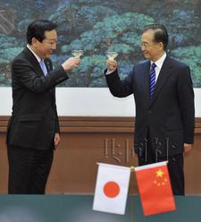 实拍日本首相访华北京街头警备