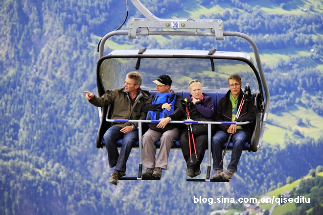 【瑞士】利德阿尔卑:冰河之旅