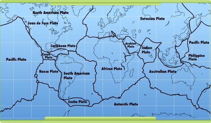 """""""震""""在哪里——扒一扒中国地震带"""