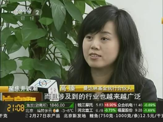 曼达林基金执行合伙人高臻受访央视 谈中国企业海外投资日益多元化的趋势