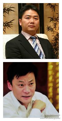 """瞧他们闹腾的:刘强东""""邀赌""""当当李国庆"""