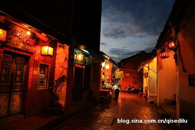 【台湾】鹿港老街,黄昏后
