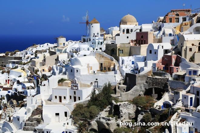 【希腊】有一种美叫做圣托里尼