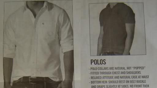 骚年,你以为Polo衫立领很酷吗