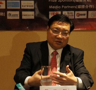 曹Sir加拿大演讲:中国将成经济火车头