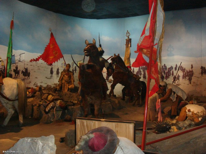 寻找明朝土木堡之变牺牲将士后裔、保护显忠祠的公告