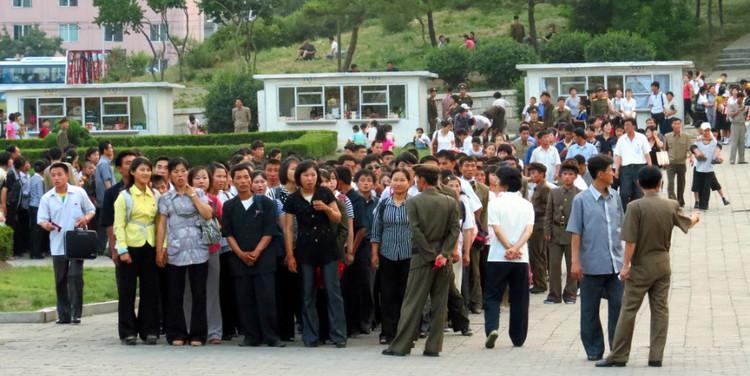 一面历史的镜子----朝鲜散记 - 谢文 - 谢文的博客