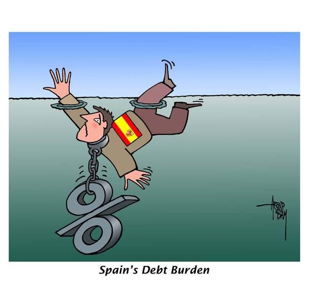 西班牙 欧债危机最后的防波堤