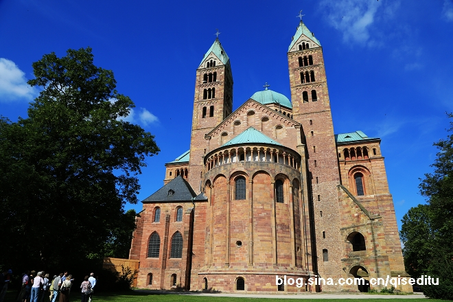 【德国】小城大作,施佩耶尔大教堂