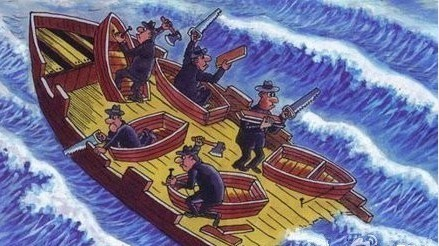 这艘船不沉简直没有天理