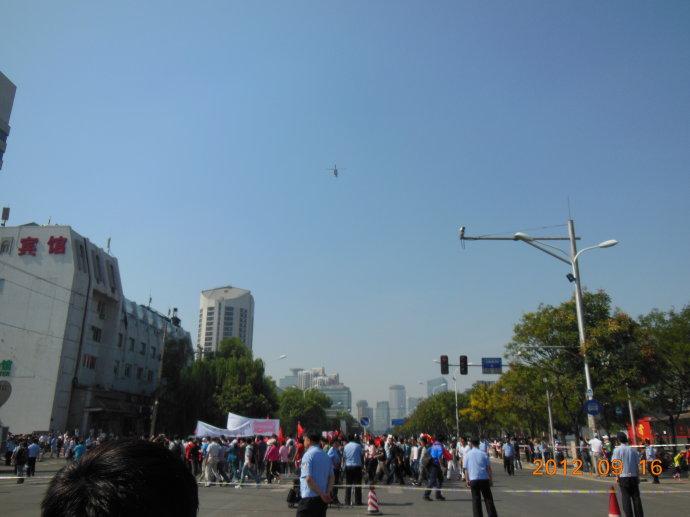 反日浪潮冲击下的日本大使馆