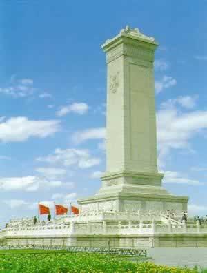 向人民英雄纪念碑献花是如何变迁的