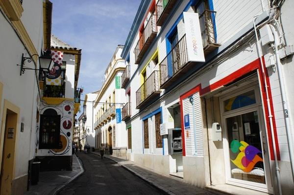 以及彩色的小街街
