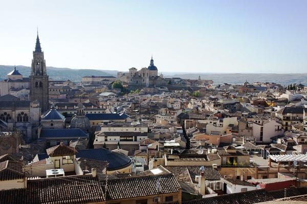 从城堡里看托莱多古城。塞万提斯大爷说过,托莱多是gloria de España(西国的荣光)