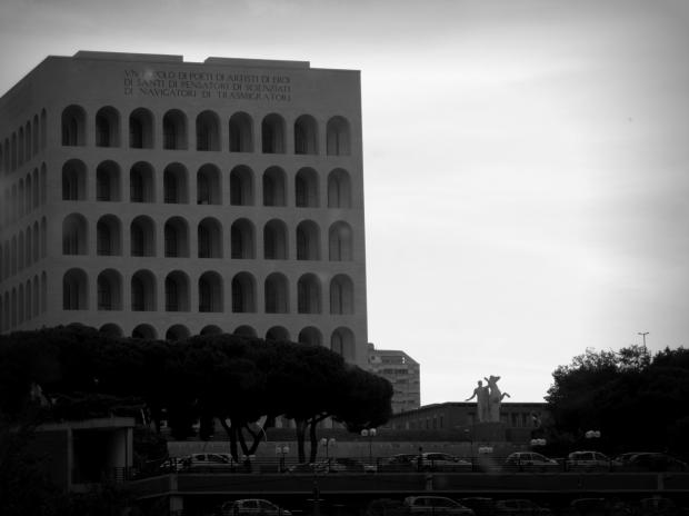 罗马 Black & White