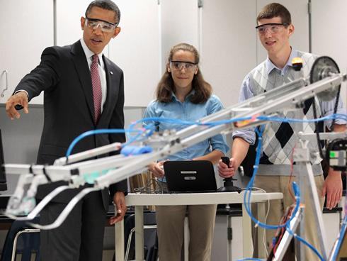 奥巴马为什么吸引科学界支持?