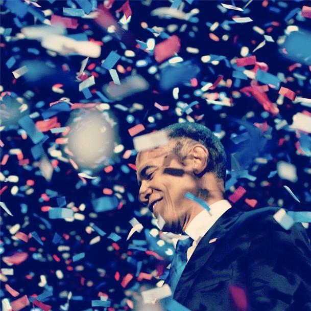 奥巴马的胜选之夜