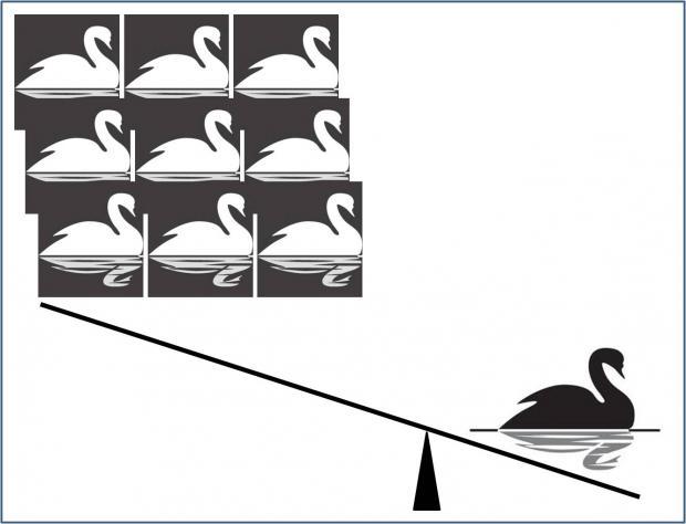 """从""""黑天鹅""""到""""龙王"""":看不见的危险"""