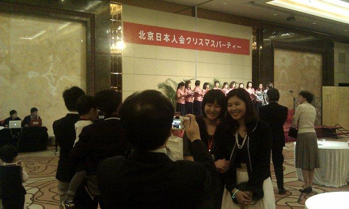 采访北京最大规模的日本人新年聚会