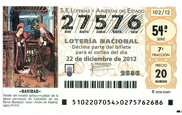 西班牙圣诞节系列——彩票好声音