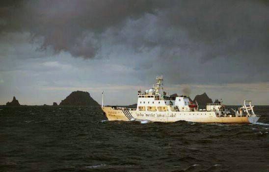日本为何总是率先报道中国巡逻钓鱼岛