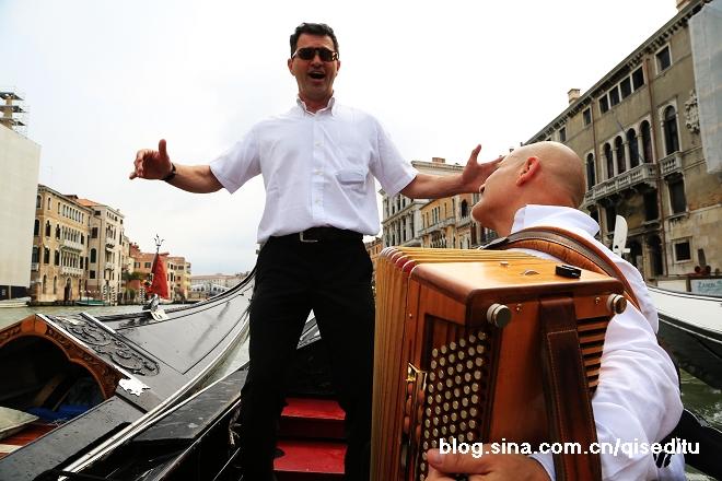 【意大利】威尼斯,贡多拉上的欢歌