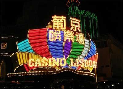 """我在澳门赌城彻夜""""赌博"""""""