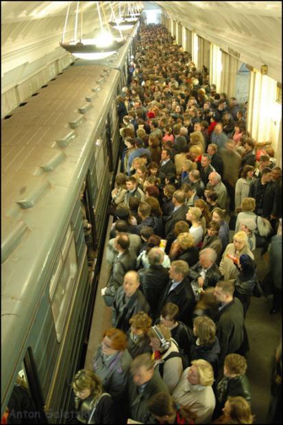 莫斯科地铁改革治拥堵