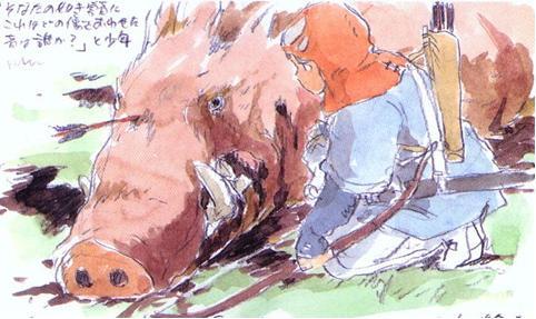 砂枪撂不倒野猪