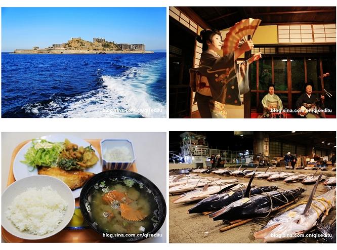 长崎,鱼市场尝鲜,军舰岛寻觅