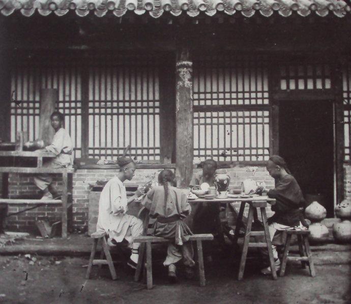 令人震撼的清末老北京五行八作的照片