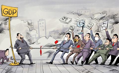 中国两会:治霾提案井喷