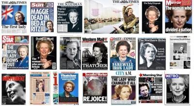 撒切尔夫人对英国的影响