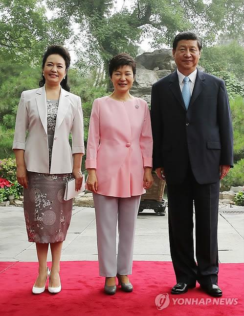 """朴槿惠为何有颗""""中国心"""""""
