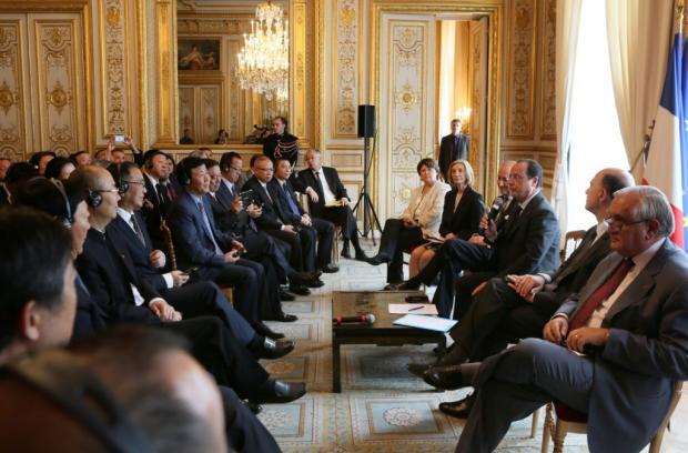 中国企业家在巴黎(之一)黄怒波:抄底欧洲