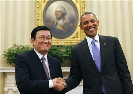 美国越南白宫握手,中国应否紧张?