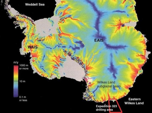 《科学》译文:东南极的冰原可能不如我们所想的那般稳定