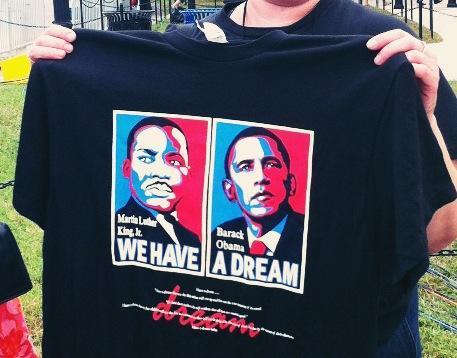 马丁路德金50年,奥巴马,Bobbie的一天
