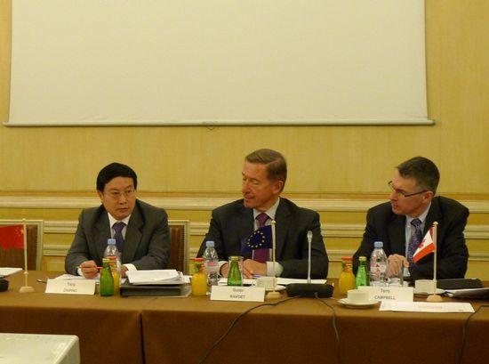 在国际银行业联合会第36次董事会上的发言要点(中英文)