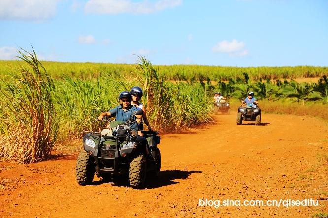 【毛里求斯】绿岛,红土地和蓝色海洋