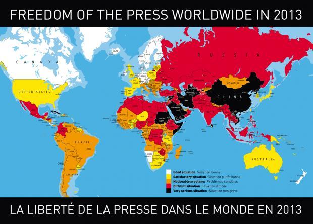 南非札记之五:非洲媒体有多不自由