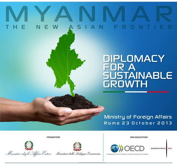 缅甸 – 新亚洲前沿 – 2013年10月23日