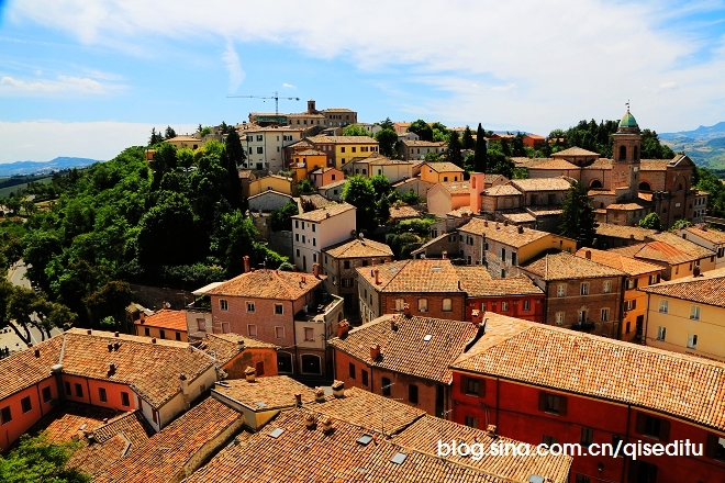 【意大利】悠闲一日,里米尼的三个小镇