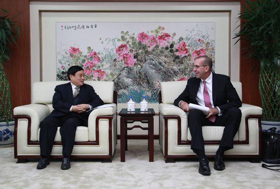 与国际保理商联合会秘书长深谈保理业务在中国发展