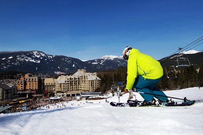 冬季到加拿大惠斯勒来滑雪