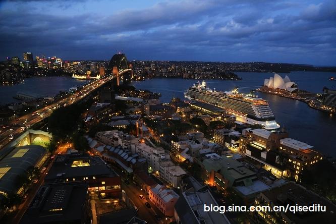 【澳大利亚】香格里拉,270度望悉尼