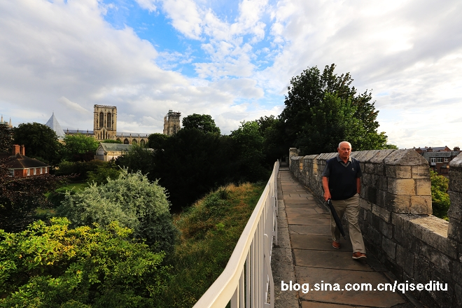 【英国】约克,城墙围绕美丽城